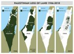 Mappa Palestina Israel 1946-2010